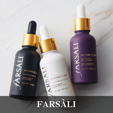 FARSÁLI Rose Gold Elixir Unicorn Essence Serum Huile